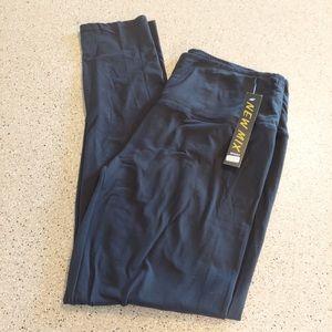 NWT New Mix Black Tight Leggings Pants High Waist